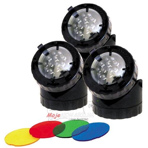 Oświetlenie Do Oczka Wodnego 3 X Reflektor Led 16w